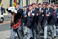 Parachute Veterans - Edinburgh Parade 2014