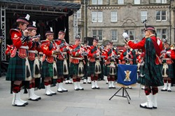Band of the Royal Regiment of Scotland - Grassmarket, Edinburgh Armed Forces Day