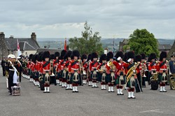 Band of the Royal Regiment of Scotland - Armed Forces Day Stirling 2014