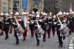 Royal Marines Band Scotland - Armed Forces Day 2014 Stirling