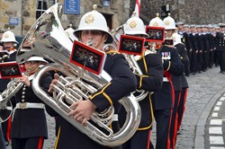 Royal Marines Band - Armed Forces Day 2014 Stirling