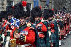 Band of the Royal Regiment of Scotland & Pipes and Drums - AFD Stirling 2014