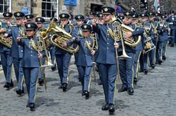 Central Band Royal Air Force - Armed Forces Day 2014 Stirling