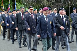 Veterans March at Stirling 2014