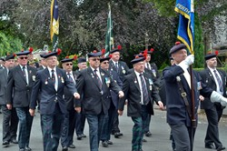 Veterans March - Armed Forces Day 2014 Stirling