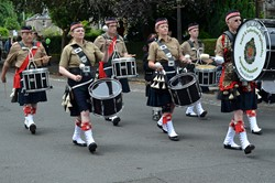 Argyll & Sutherland Highlanders Regimental Association Pipes and Drums - Stirling 2014