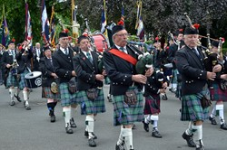 Biggar & District Royal British Legion Pipe Band - Stirling 2014