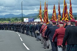 Veterans Parade - Armed Forces Day 2014 Stirling 2014