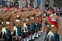 The Highlanders (4 Scots) Royal Regiment of Scotland - Stirling Armed Forces Day 2014