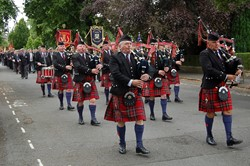 Pipe Band - Armed Forces Day 2014 Stirling