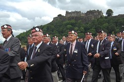 Argyll & Sutherland Highlanders Veterans - Armed Forces Day National Event Stirling 2014