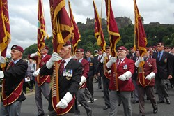 Parachute Veteran Standards - Armed Forces Day 2014 Stirling 2014