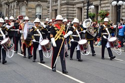 Royal Marines Band Scotland - Glasgow Armed Forces Day 2014