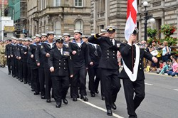 Royal Navy - Glasgow Armed Forces Day 2014
