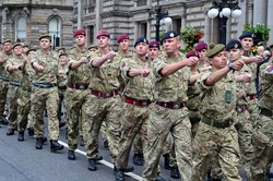 Armed Forces Day Parade Glasgow 2014