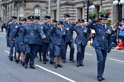 Royal Air Force - Glasgow Armed Forces Day 2014