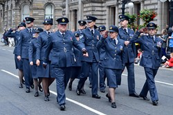 Royal Air Force on Parade - Glasgow Armed Forces Day 2014