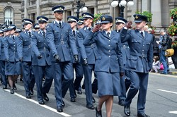 Universities of Glasgow and Strathclyde Air Squadron -  Glasgow Armed Forces Day 2014