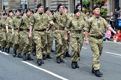 Army Cadets - Glasgow Armed Forces Day 2014