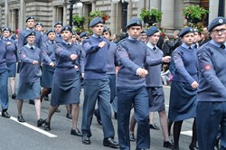 Air Training Corps - Glasgow Armed Forces Day 2014