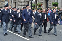 Royal Naval Association - Glasgow Armed Forces Day 2014