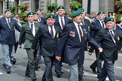 Royal Marines Veterans - Glasgow Armed Forces Day 2014