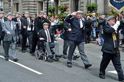 Royal Scots Dragoon Guards Veterans - Armed Forces Day 2014 Glasgow