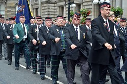 Royal Highland Fusiliers Veterans - AFD Glasgow 2014