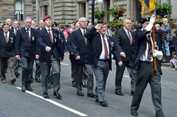 Veterans - Glasgow Armed Forces Day 2014