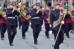 Band of the Parachute Regiment - WW1 Commonwealth Commemoration Glasgow 2014