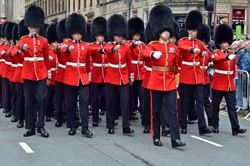Scots Guards - 1st World War Commonwealth Commemoration Glasgow 2014