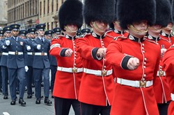 Scots Guards - Military Parade Glasgow 2014