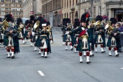 The Lowland Band of The Royal Regiment of Scotland - Glasgow 2014