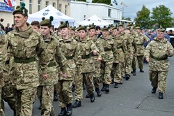 Army Cadets Parade - Grangemouth Armed Forces Day 2014