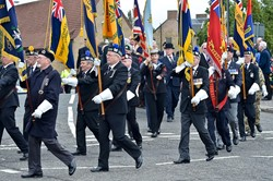 Grangemouth Armed Forces Day Parade 2014
