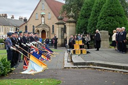 Drumhead Service Zetland Park - Grangemouth Armed Forces Day 2104
