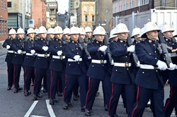43 Commando Royal Marines - Parade Glasgow 2014