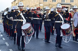 Royal Marines Band - West George Street, Glasgow 2014
