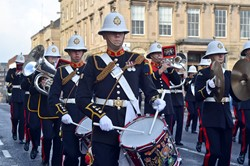 Royal Marines Band - Freedom Parade Glasgow 2014
