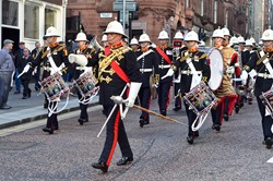 Royal Marines Band (Scotland) - Glasgow 2014
