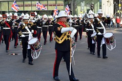 Royal Marines Band - George Square, Glasgow 2014