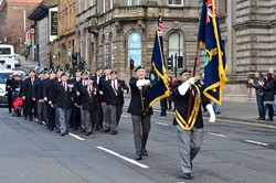 Royal Marine Veterans - Freedom Parade Glasgow 2014