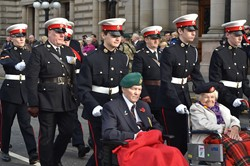 Royal Marine Cadets and Veterans - Freedom Parade Glasgow 2014