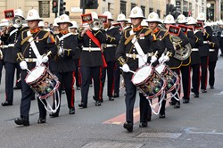 Royal Marines Band - Renfield Street Glasgow 2014