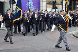 Veterans Royal Marines Freedom Parade Glasgow November 2014
