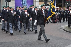 Royal Marine Veterans - Queen Street Glasgow 2014