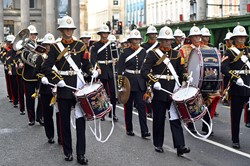 Royal Marines Band Scotland - Ingram Street Glasgow 2014