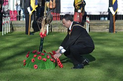 Lord Provost Donald Wilson Edinburgh - Garden of Remembrance Edinburgh 2014