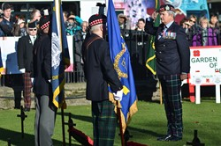Service of Dedication - Garden of Remembrance Edinburgh 2014