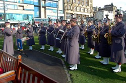 Band of the Royal Regiment of Scotland - Garden of Remembrance Edinburgh 2014